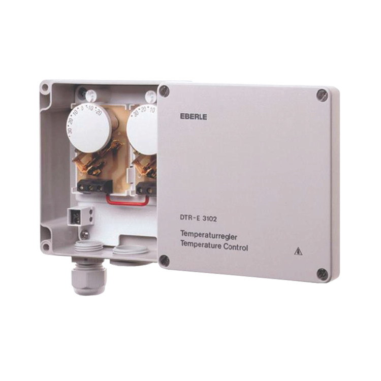 Universal external electronic thermostat
