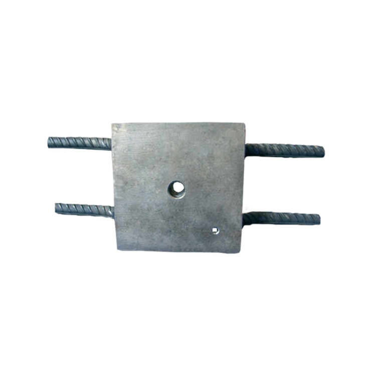 Outlet from reinforcement