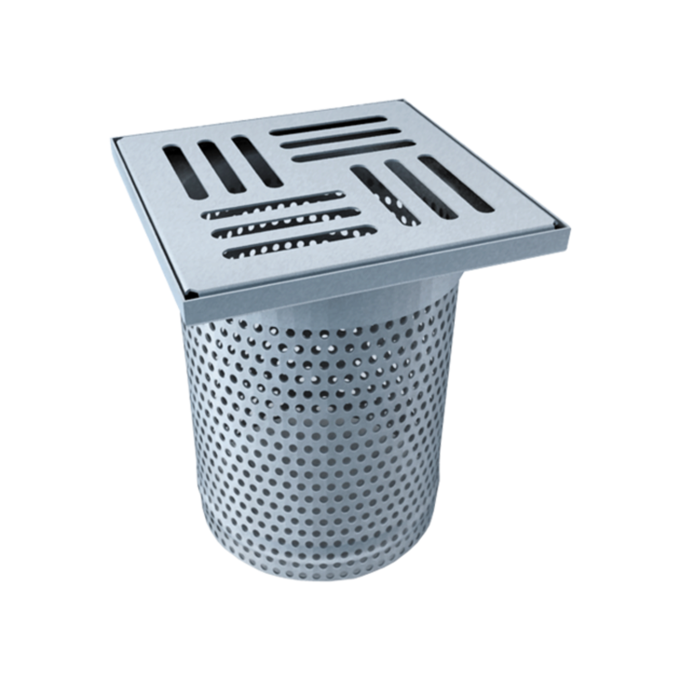 Perforated terrace attachment